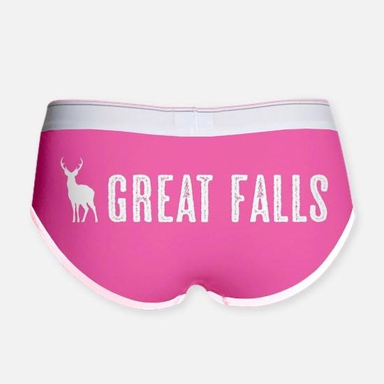 Deer: Great Falls, Montana Women's Boy Brief