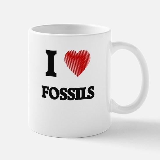 I love Fossils Mugs