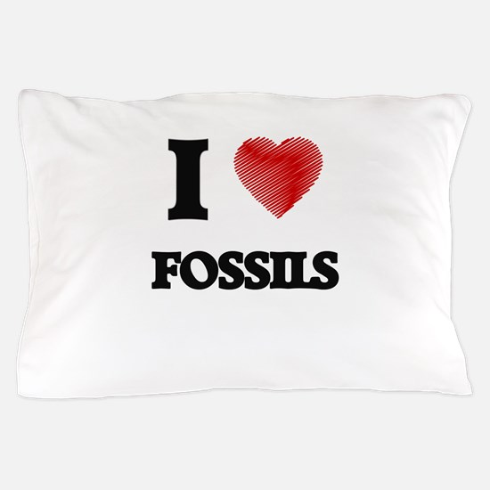 I love Fossils Pillow Case
