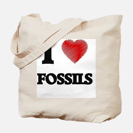 I love Fossils Tote Bag