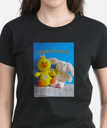 Happy Easter Chick + Bunny T-Shirt