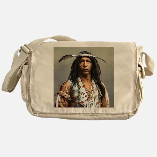 Classic Native American Brave Messenger Bag