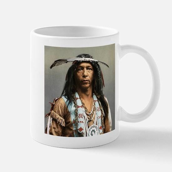 Classic Native American Brave Mugs