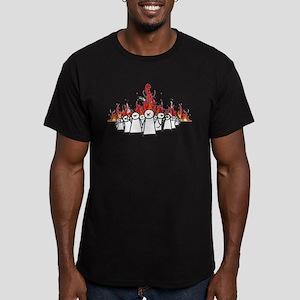 Villagers Men's Fitted T-Shirt (dark)