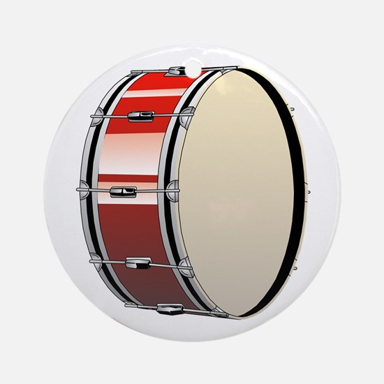 Bass Drum Round Ornament