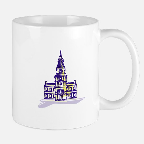 Independence hall Mugs