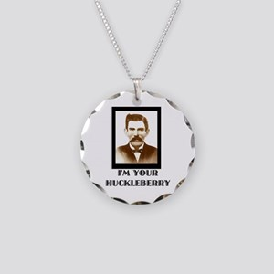 Doc Holliday - I'm Your Huck Necklace Circle Charm