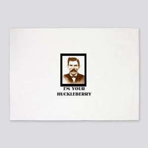 Doc Holliday - I'm Your Huckleberry 5'x7'Area Rug
