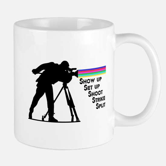 Videographer - Stainless Steel Travel Mugs