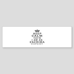 Escrima Expert Designs Sticker (Bumper)