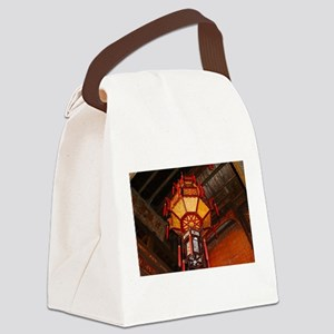 Lantern, Daxu Old Village, China Canvas Lunch Bag