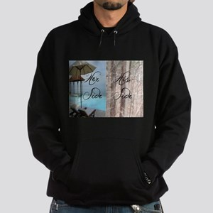 her side his side: paradise Sweatshirt