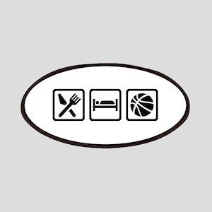 Eat Sleep Basketball Patch