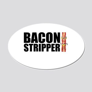 Bacon Stripper Wall Decal