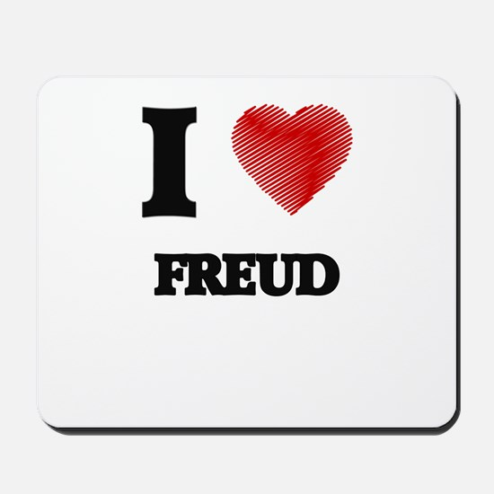 I love Freud Mousepad