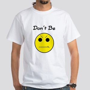 Yellow Dont Be White T-Shirt