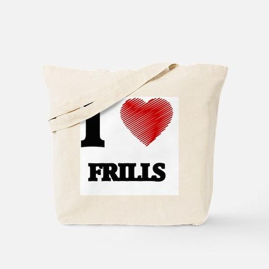Cool Frills Tote Bag