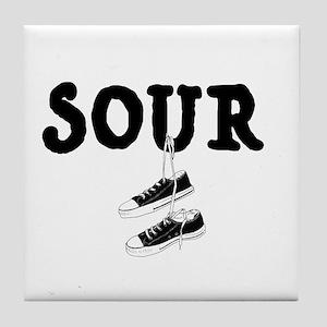 Sour Shoes Howard Stern Tile Coaster
