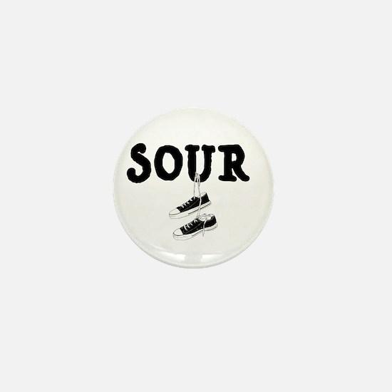 Sour Shoes Howard Stern Mini Button