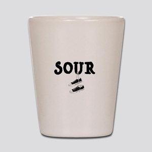 Sour Shoes Howard Stern Shot Glass