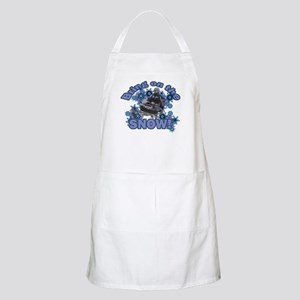 Bring On The Snow BBQ Apron