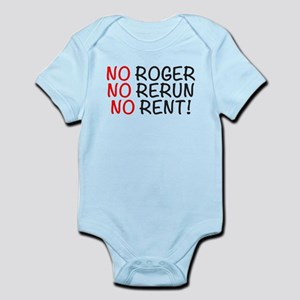 NO Roger, No Rerun, No Rent, Whats Happe Body Suit