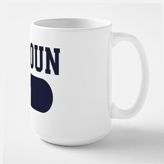 Stabyhoun Dad Large Mug