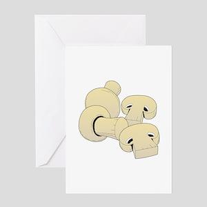Edible mushroom Greeting Cards