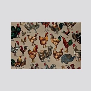 World Poultry Poster Magnets