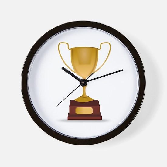 Trophy Wall Clock
