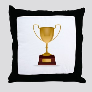 Trophy Throw Pillow