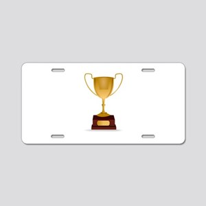 Trophy Aluminum License Plate