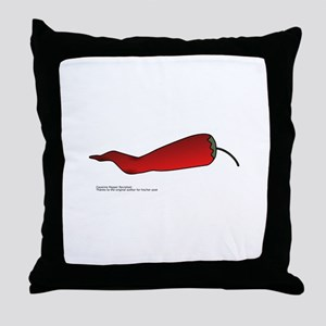 Red chilli Throw Pillow
