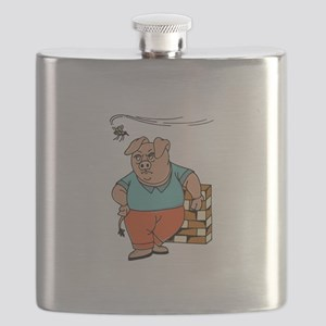 Pig and Mosquito Flask