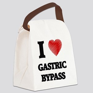 I love Gastric Bypass Canvas Lunch Bag