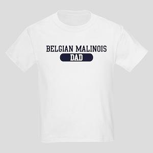 Belgian Malinois Dad Kids Light T-Shirt