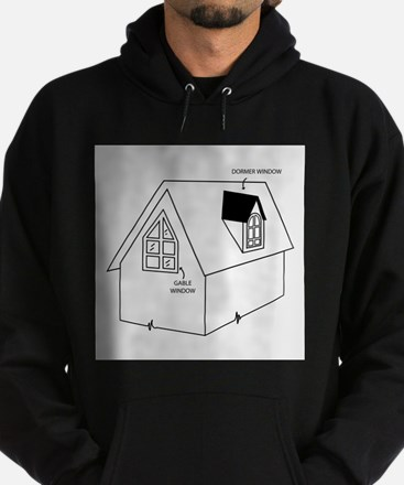 Cute Construction and real estate profession Hoodie (dark)