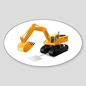 Excavator Sticker