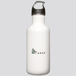 Hedgehog with Apples Stainless Water Bottle 1.0L