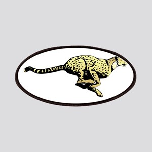 Yellow Cheetah with black dots Patch