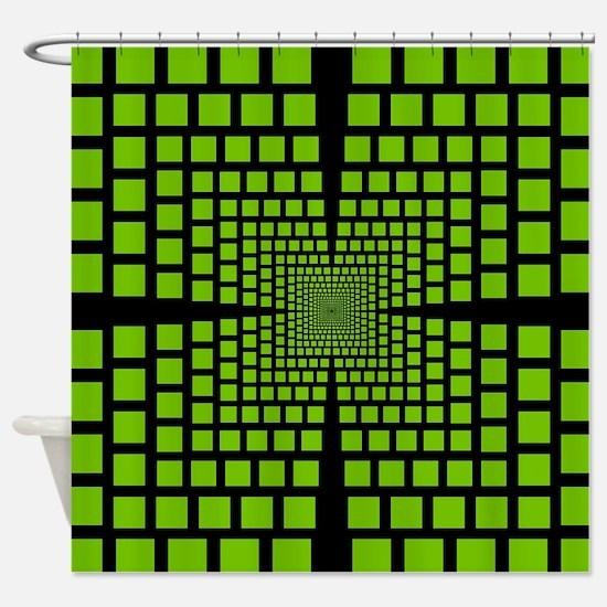 Cool Futuristic Shower Curtain