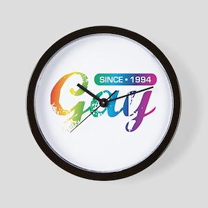 Gay Since 1994 Wall Clock