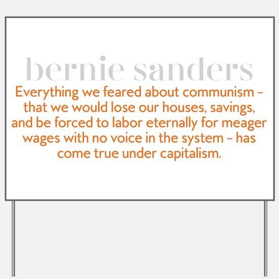 Bernie Communism Yard Sign