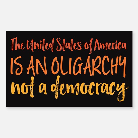 USA Oligarchy Decal