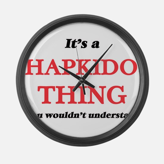 It's a Hapkido thing, you wou Large Wall Clock
