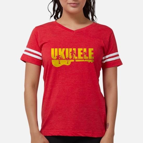 hawiian ukulele palm tree design T-Shirt