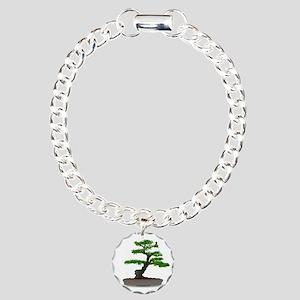 Bonsai tree Charm Bracelet, One Charm