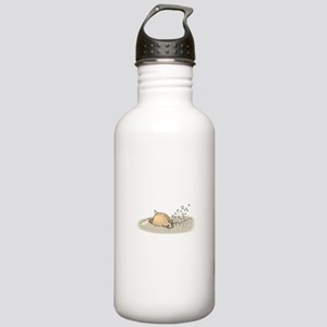 Hamster Digging Stainless Water Bottle 1.0L