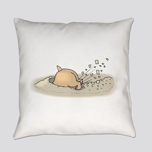 Hamster Digging Everyday Pillow