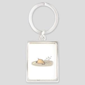 Hamster Digging Keychains